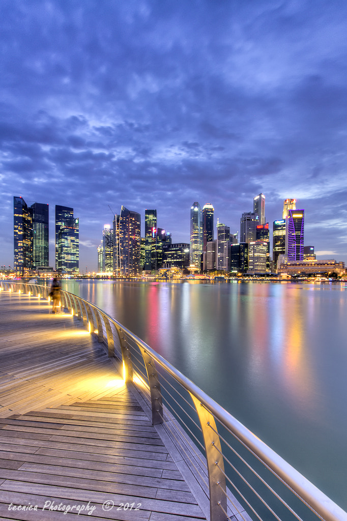 Photograph Blue hour over Central Business District by t e c n i c a on 500px
