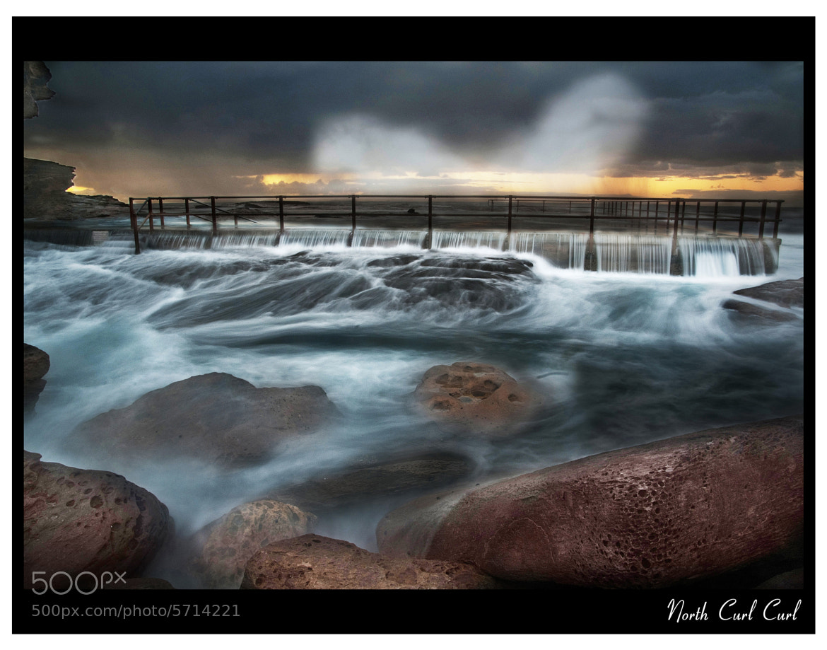 Photograph North Curl Curl - Stormy Sunrise by Arun  on 500px
