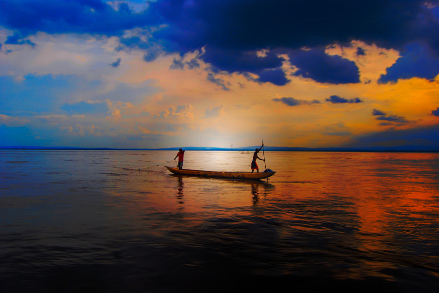 Pirogue on the Congo River by Brandon Blattner on 500px.com