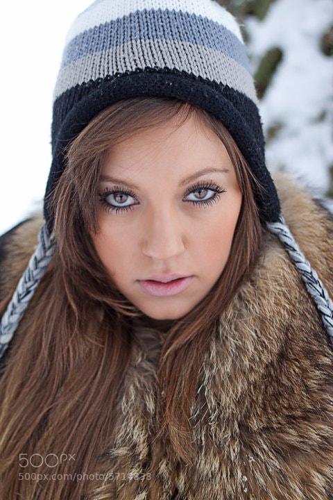 Photograph Winter portrait by Steven Bishop on 500px
