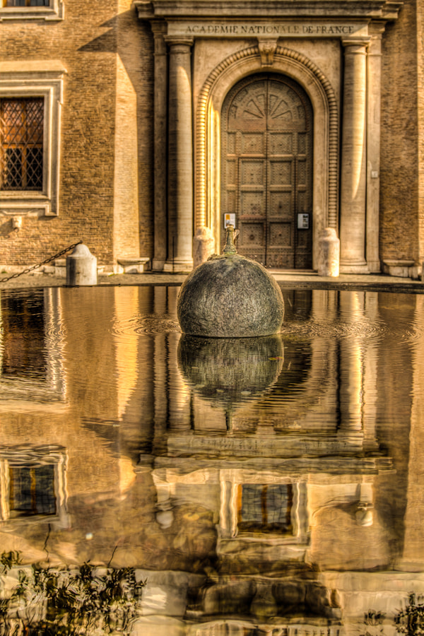 Photograph Reflections in Rome…Waiting for the Shot by David Edenfield on 500px
