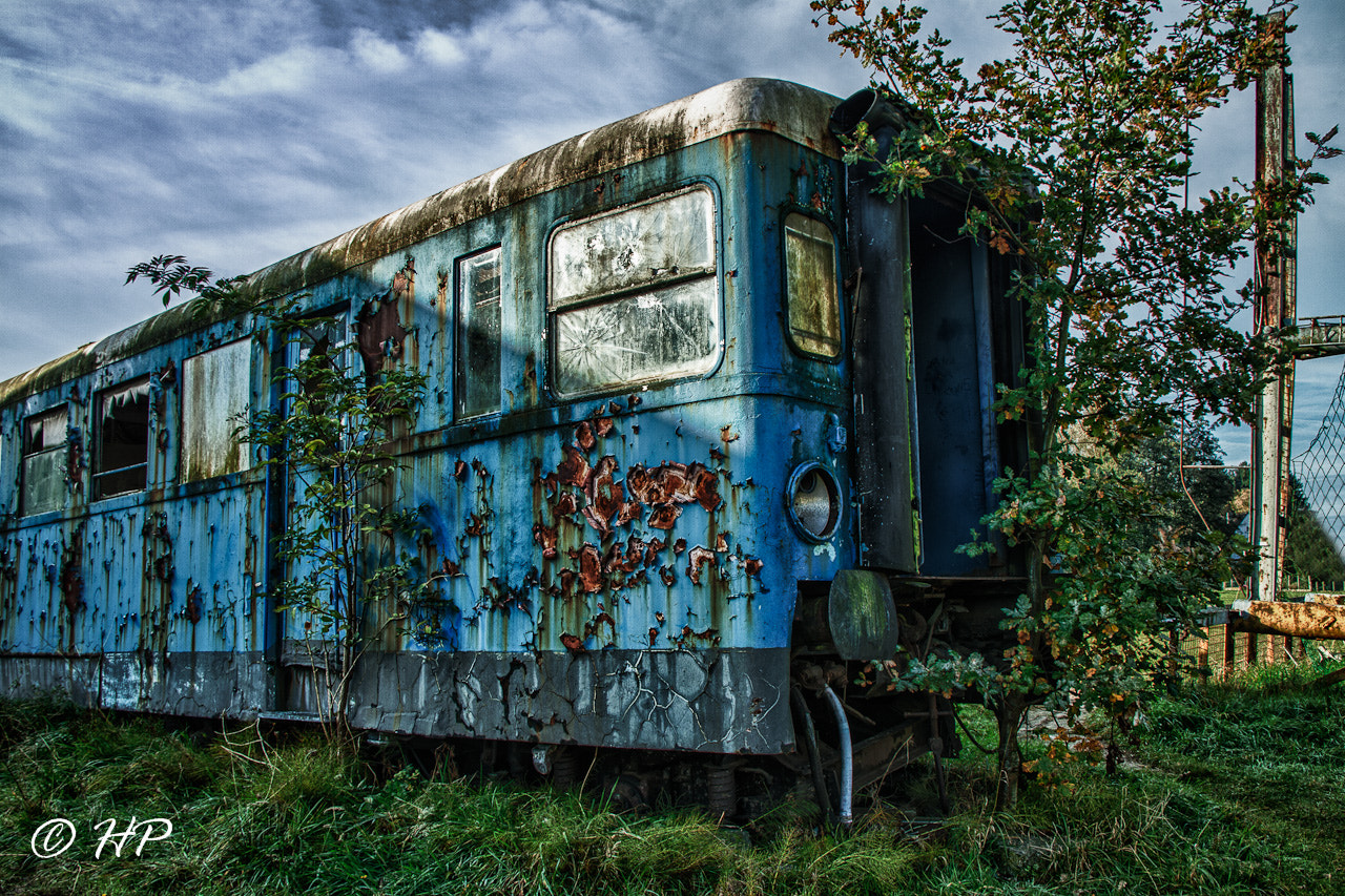Photograph Lost train by Patrick Hendrickx on 500px