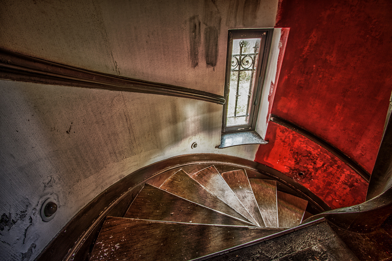 Photograph Red Stairs by Patrick Hendrickx on 500px