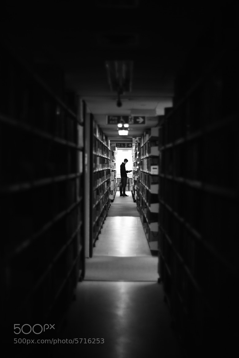Photograph in the lib. by Po Yin Ho on 500px