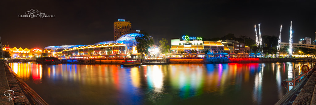 Photograph Clark Quay by sactyr photography on 500px
