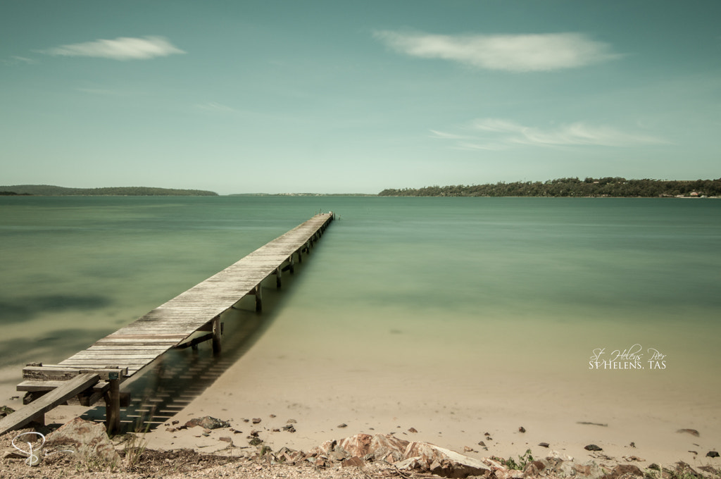 Photograph St Helens Pier by sactyr photography on 500px