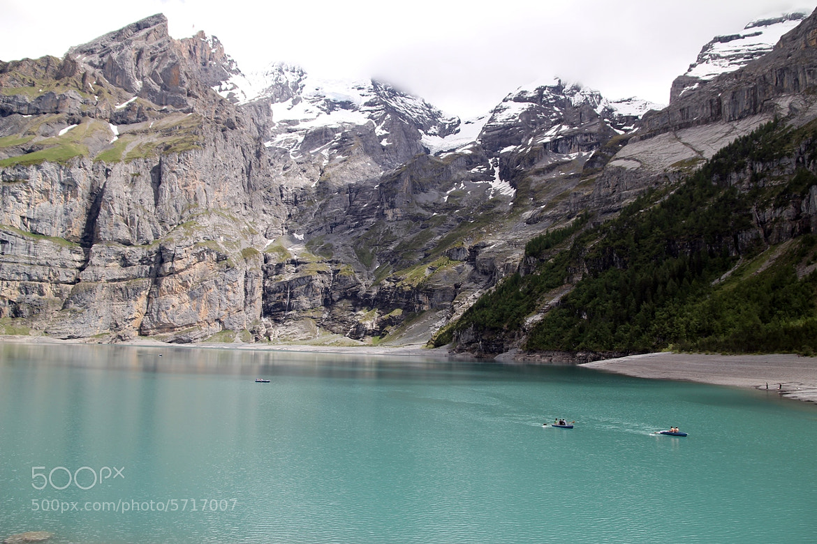Photograph KANDERSTEG  OESCHINENSEE  by Itamar Campos on 500px