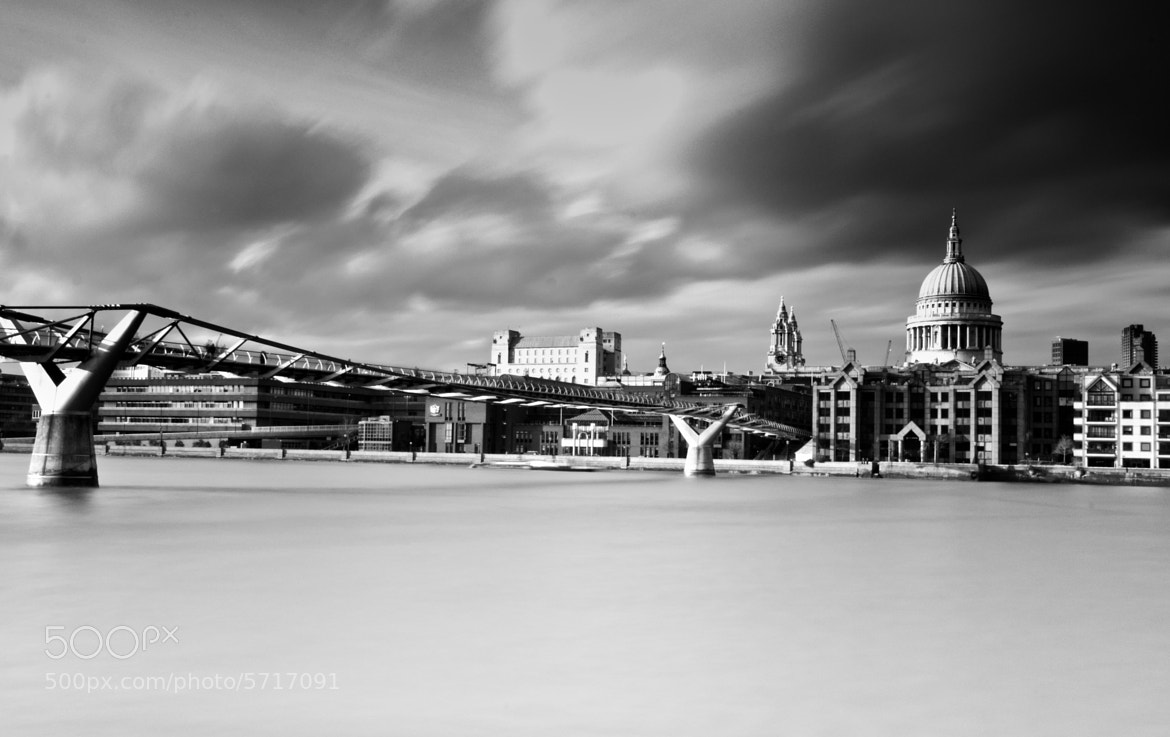 Photograph St. Pauls and The Millenium by Neil Bryars on 500px