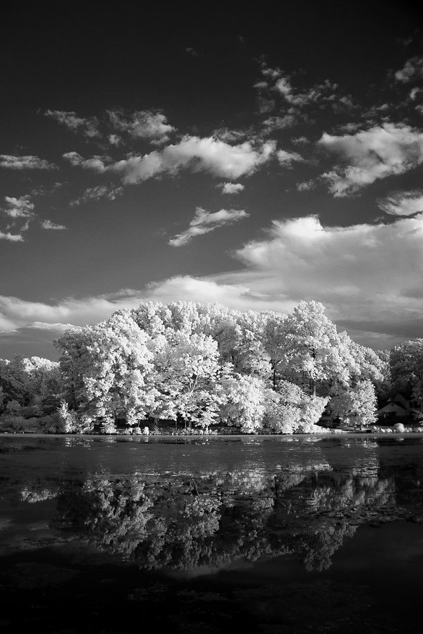 Photograph Lake Topanemus IR by Dave Rogers on 500px