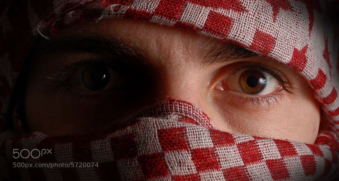 Photograph all in the eyes - self portrait by Daniel Elliott on 500px