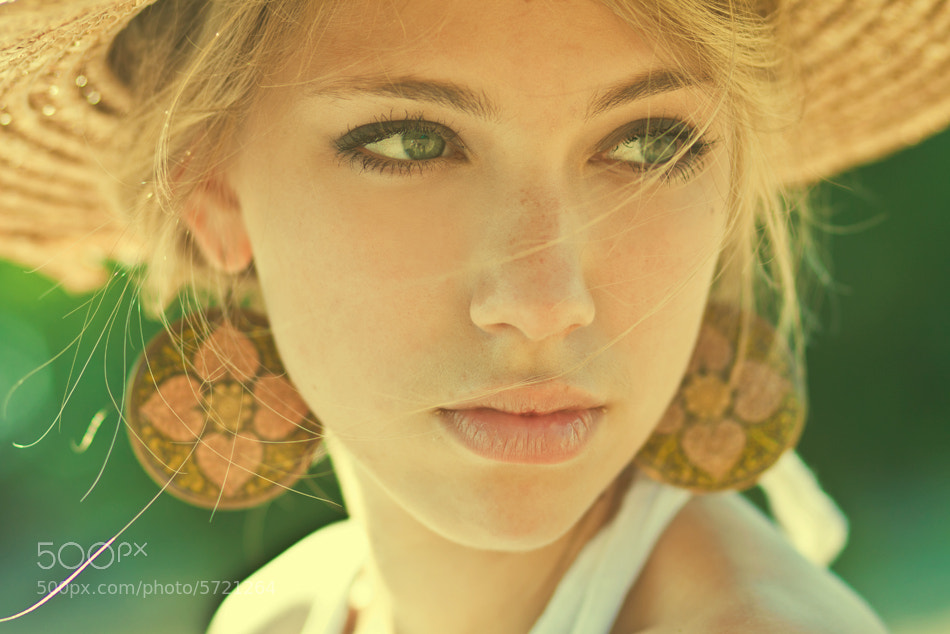 Photograph warm portreit by Denis Goncharov on 500px
