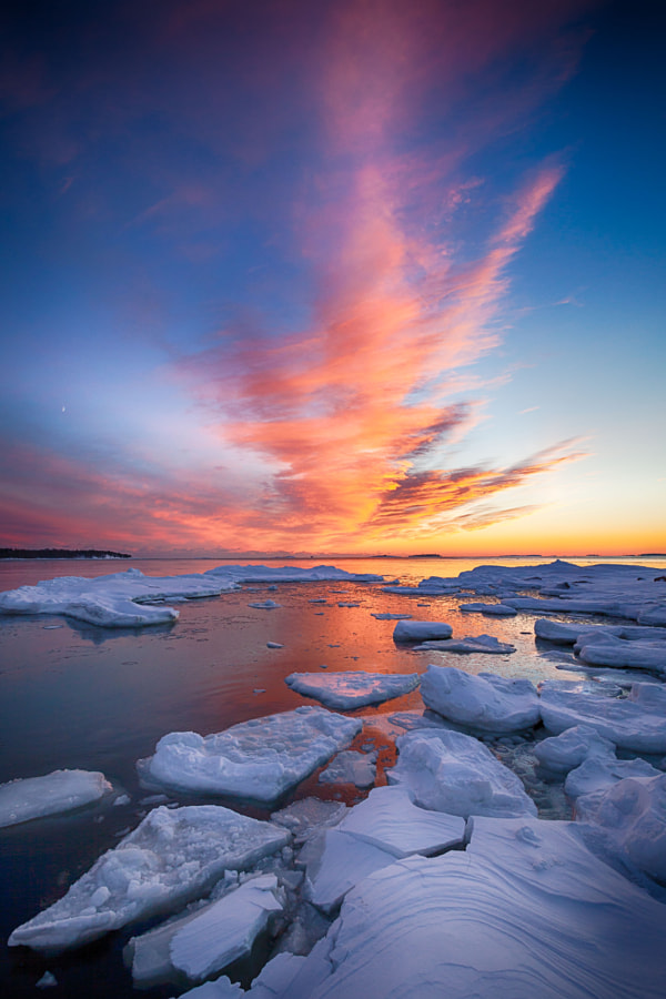 Photograph Fire & Ice by Jouko Ruuskanen on 500px