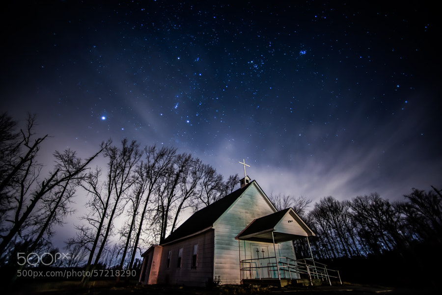 Photograph Red Hill Road Church by David Downs on 500px