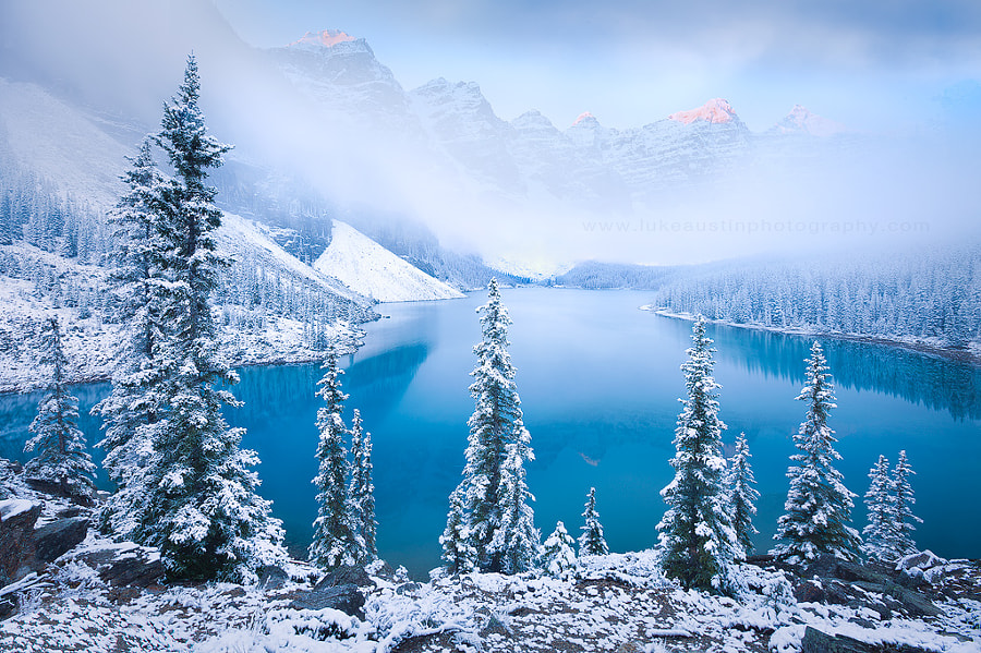 Moraine Lake - Alberta, Canada by Luke Austin on 500px.com