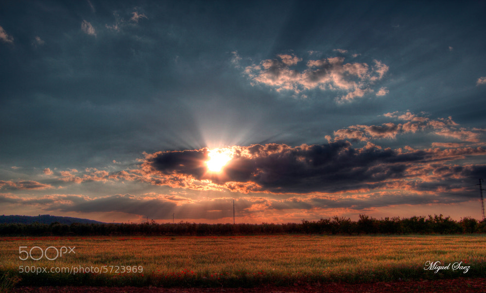Photograph Atardecer by Miguel Saez on 500px