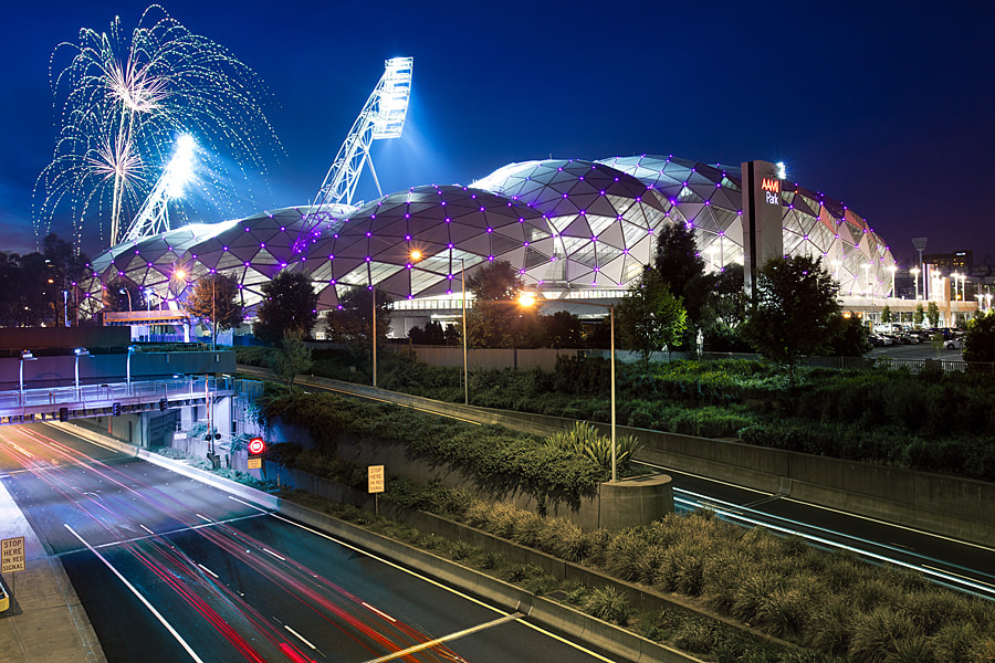 Photograph Aami Park by Alex Wise on 500px