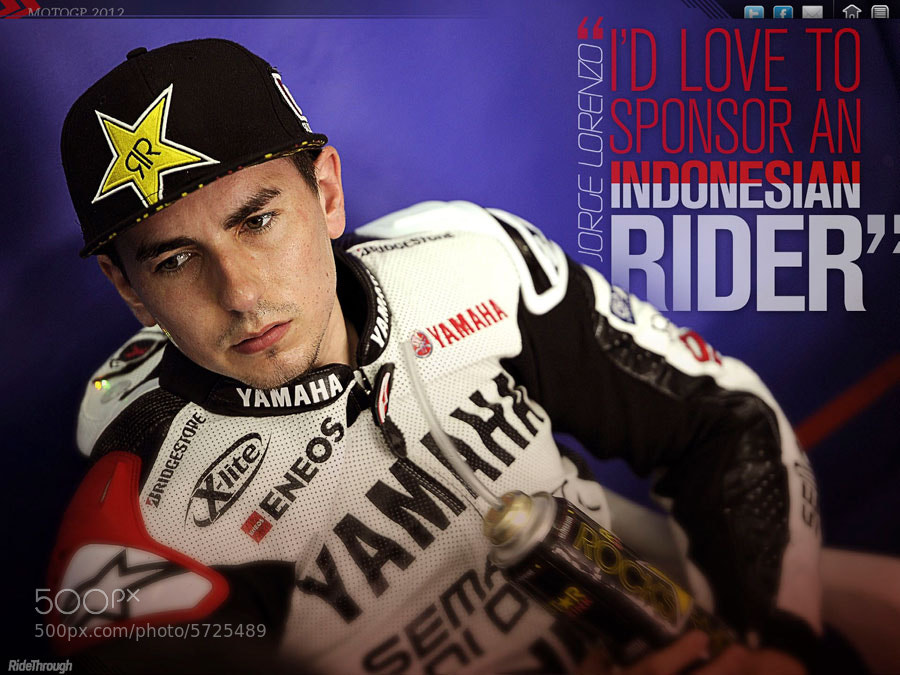 Photograph Jorge Lorenzo interview by Ride Through Mag on 500px