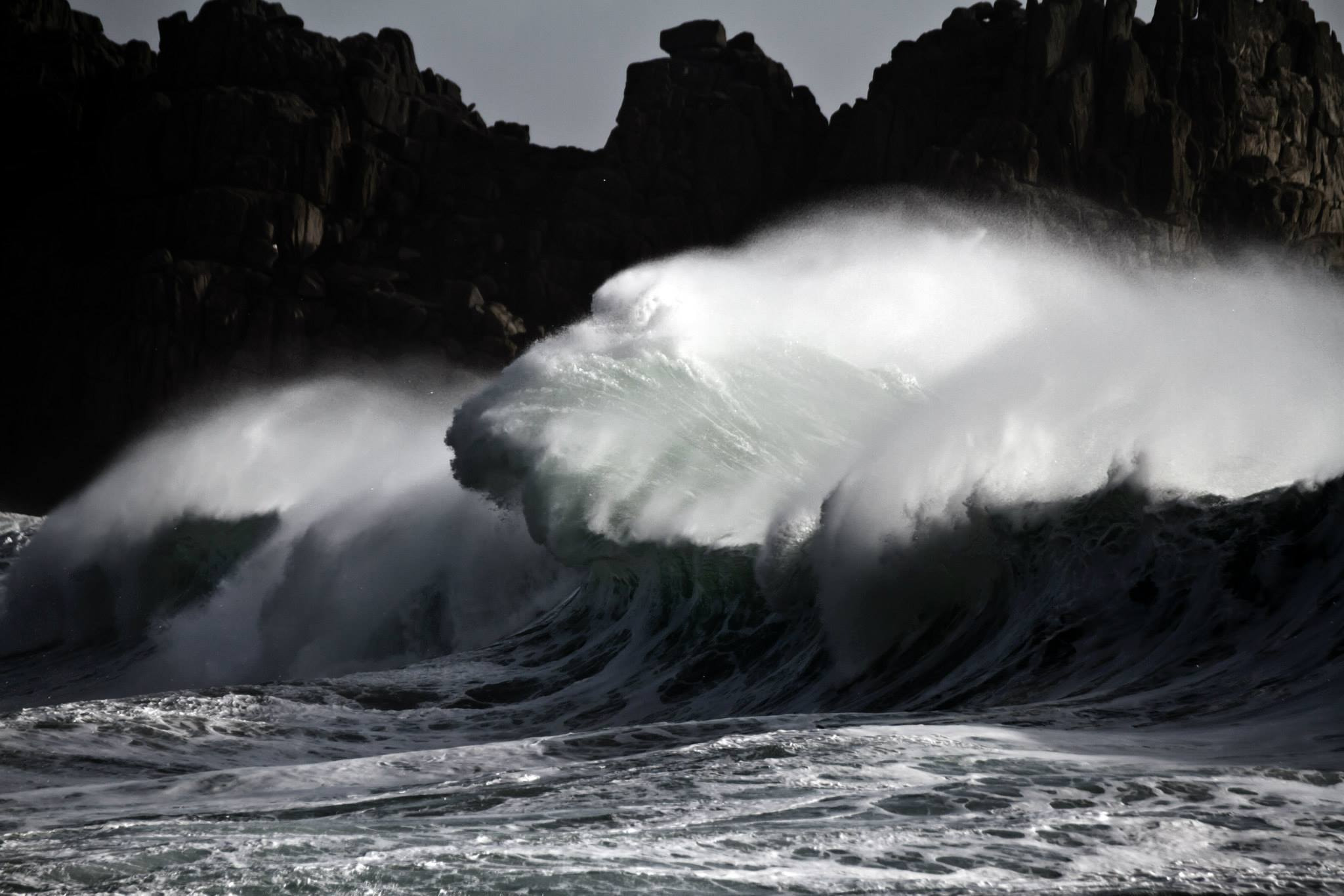 Photograph hercules storm wave by mike harvey on 500px