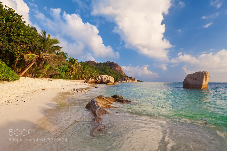 Photograph Anse Source D'Argent by Michael  Breitung on 500px