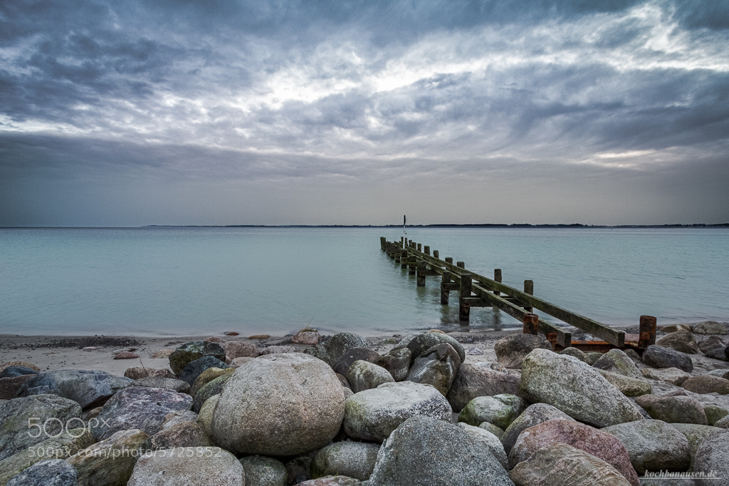 Photograph Lost Bridge into Baltic Sea by Stefan Tiesing on 500px