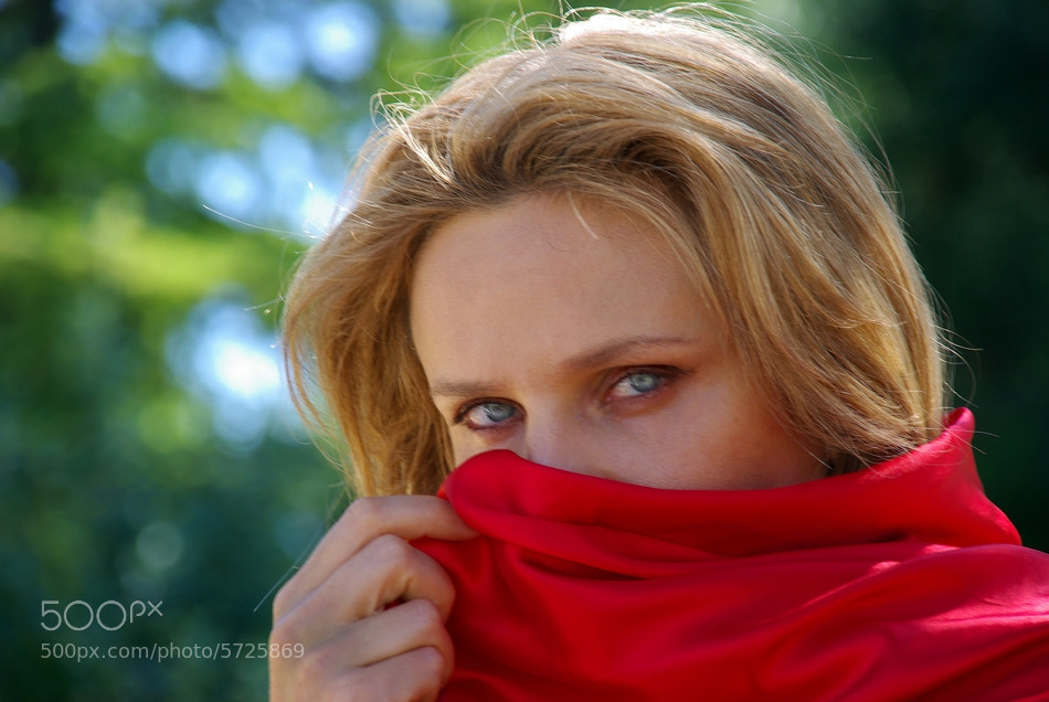 Photograph THE RED SCARF by Gianfranco Marzetti on 500px