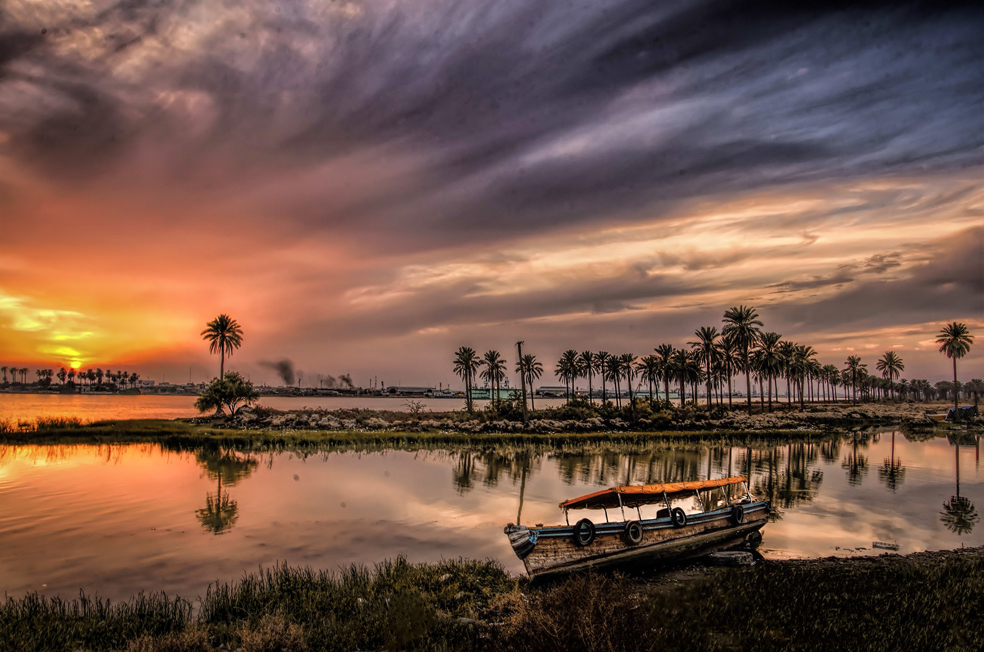 Photograph Beautiful Sunset by Ehab Monther on 500px
