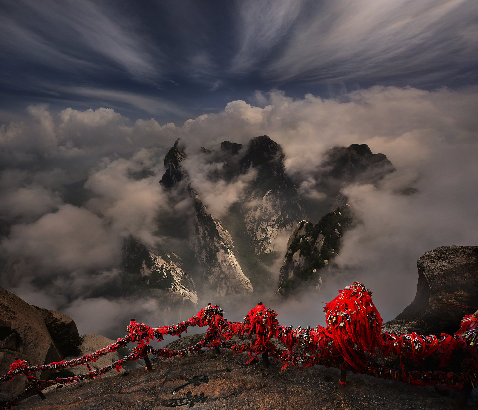 Photograph Huashan Mt., Xian , China by Weerapong Chaipuck on 500px