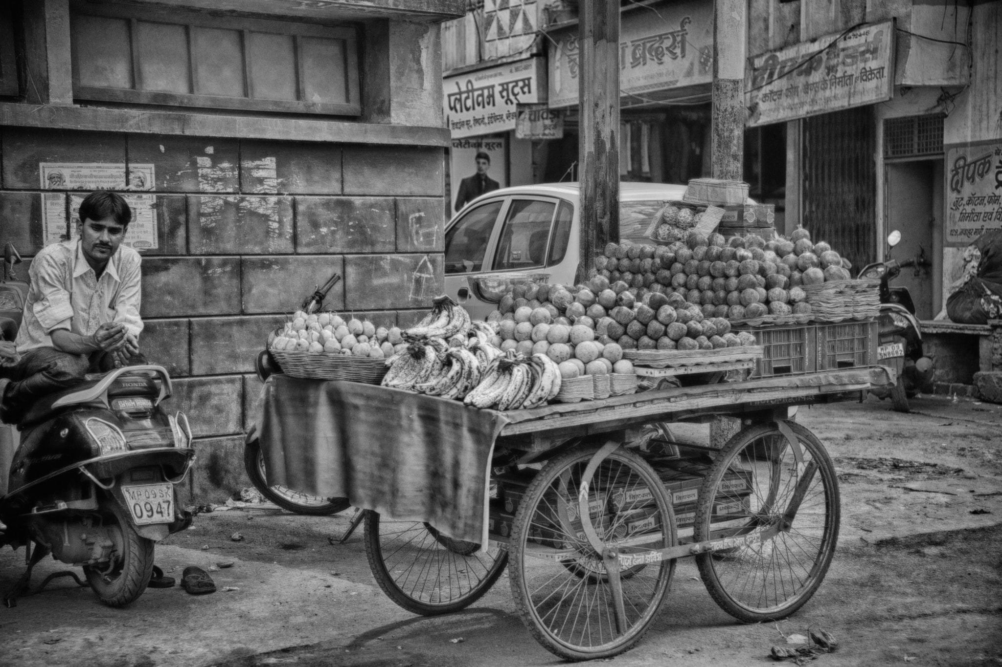 Photograph Fruit (b&w) by John Hoey on 500px