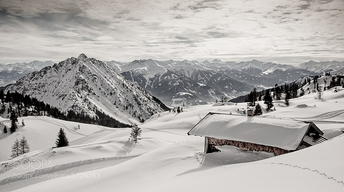 Photograph Winter in the Alps by Torsten Muehlbacher on 500px