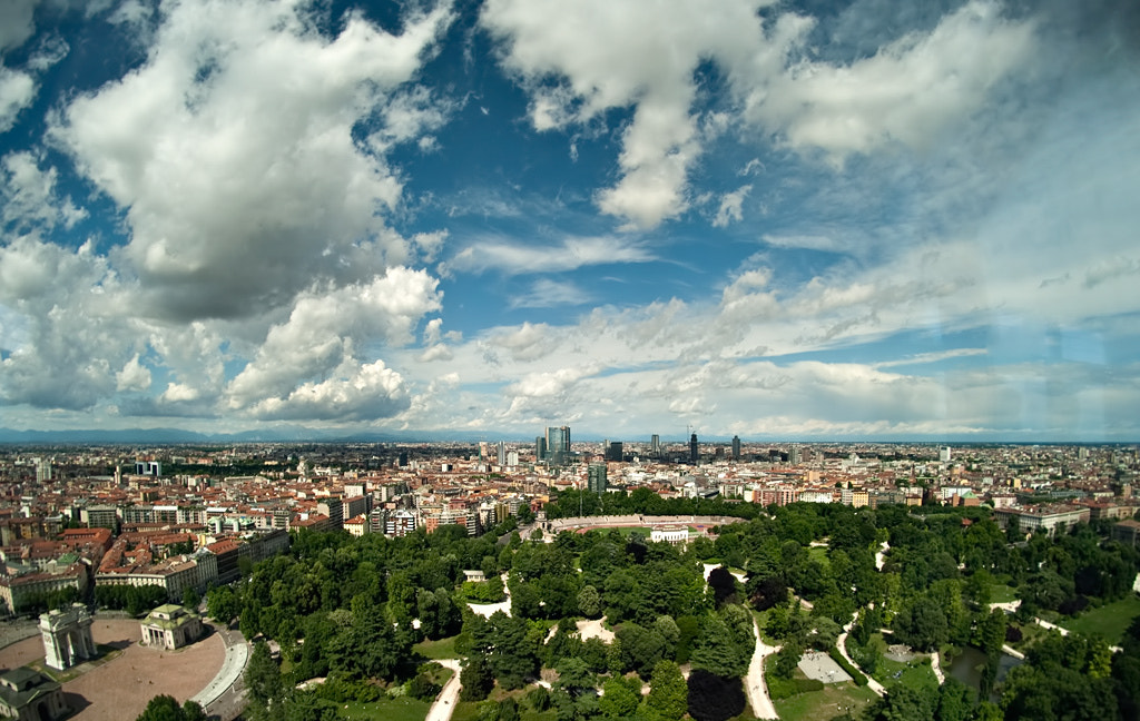 Photograph Simply Milan by Milano Panoramica on 500px
