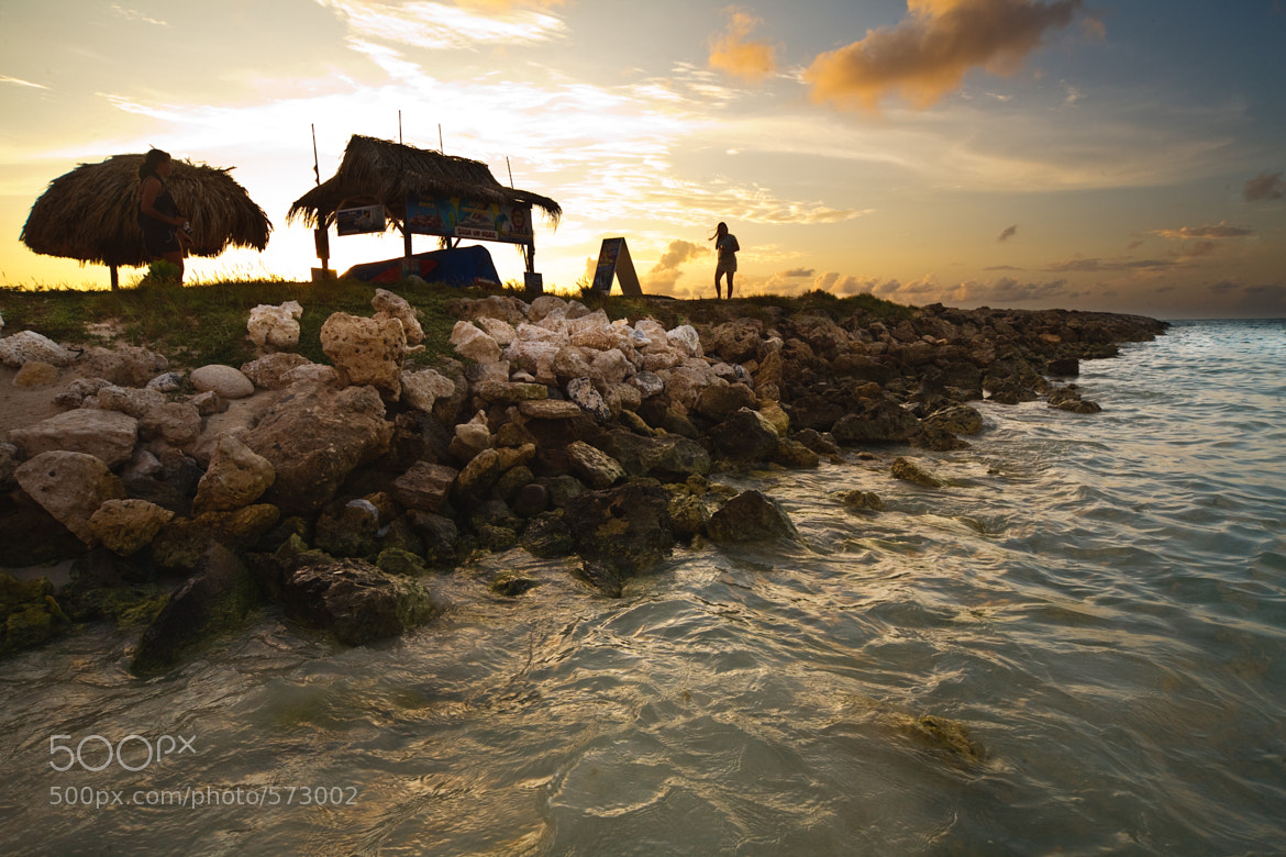 Photograph Strolling Along the Jetty at Sunset by Tom Harrison on 500px