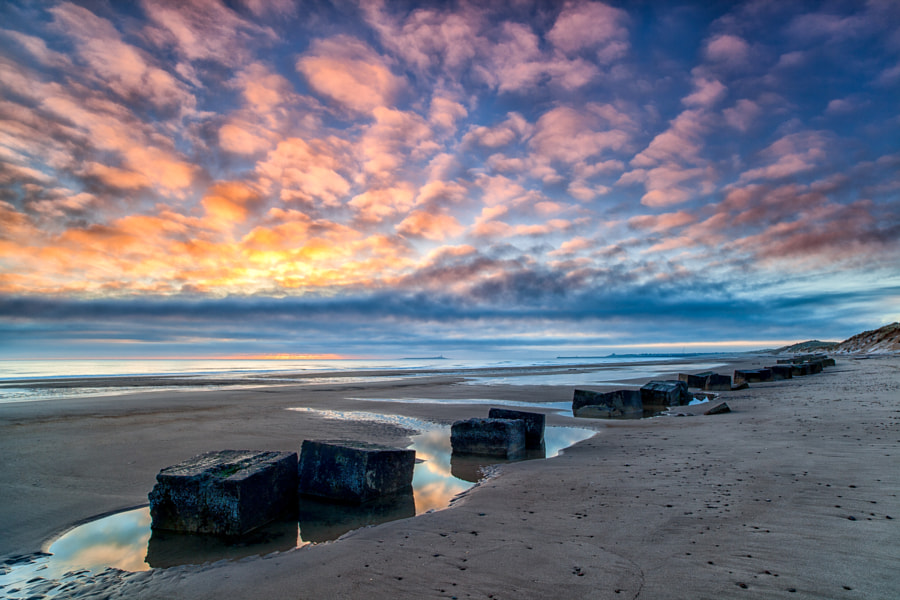 Beach Block Sunrise, Warkworth
