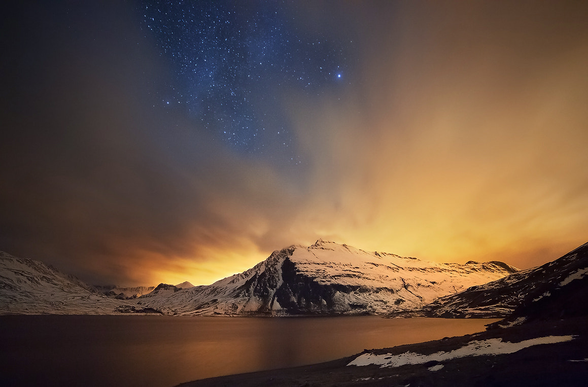 Photograph Moncenisio by night by Omar Alberti on 500px