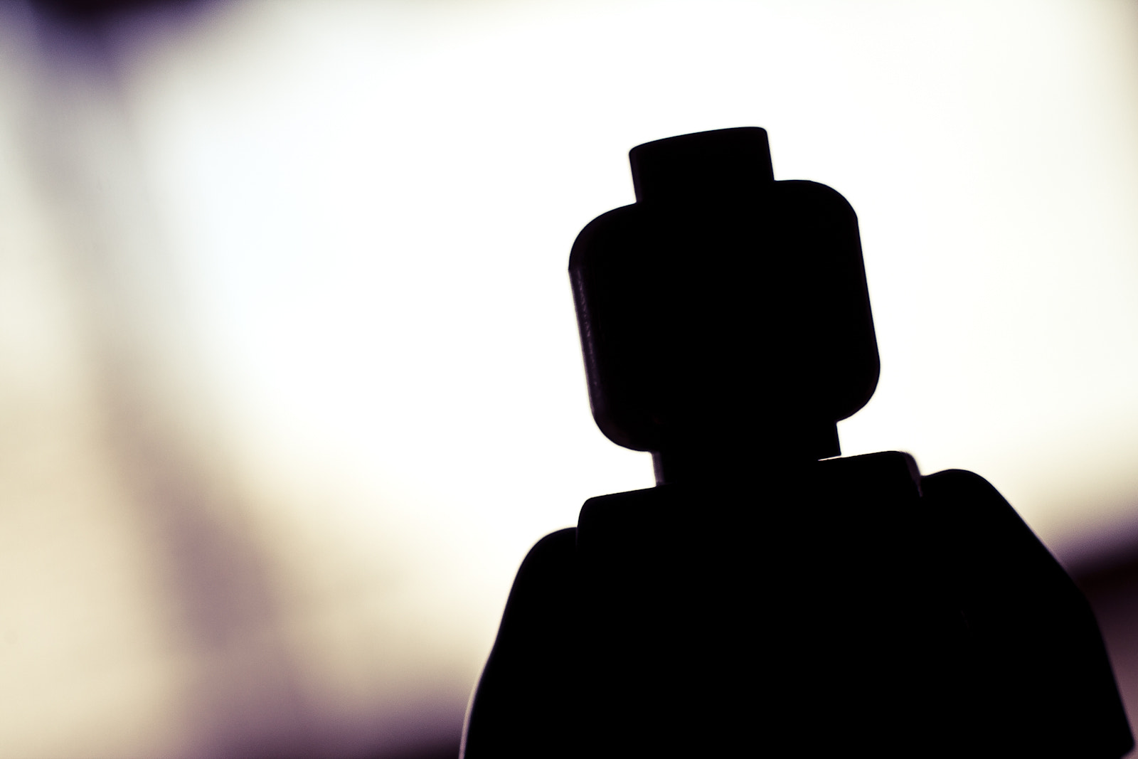 Photograph Lego Man Silhouette by David Lierman on 500px