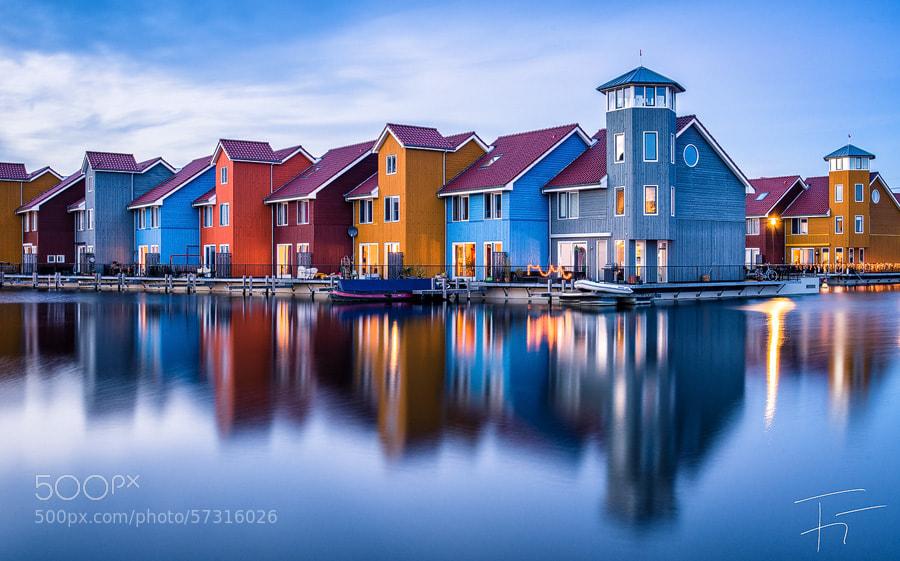 Photograph Groningen - Jachthaven Reitdiep III by Finn Gonschior on 500px