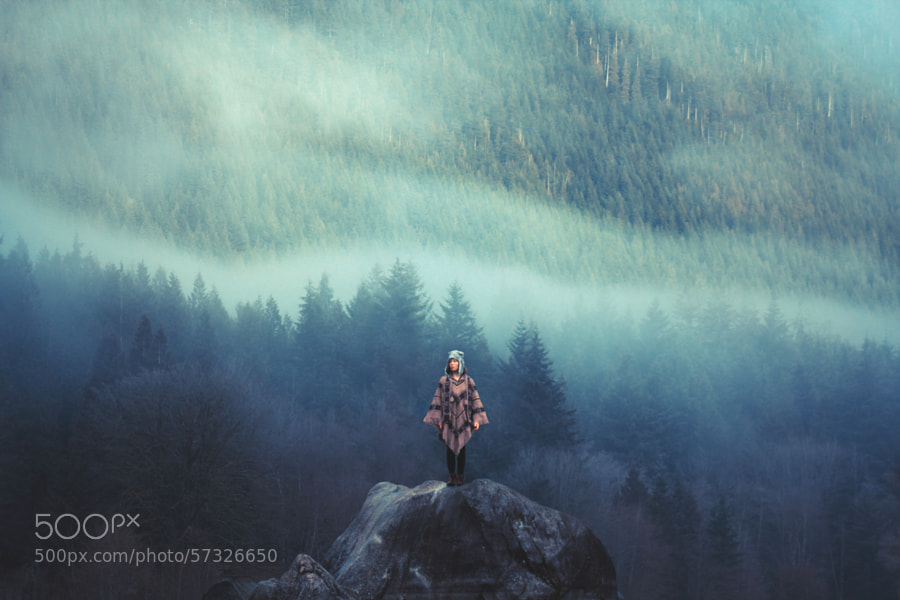 Photograph The Misty Mountains Cold by Lizzy Gadd on 500px