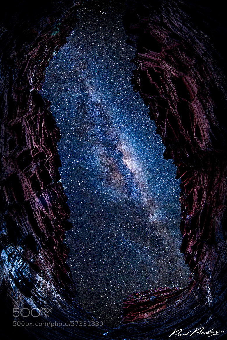 Photograph Eye to the Galaxy by Paul Pichugin on 500px
