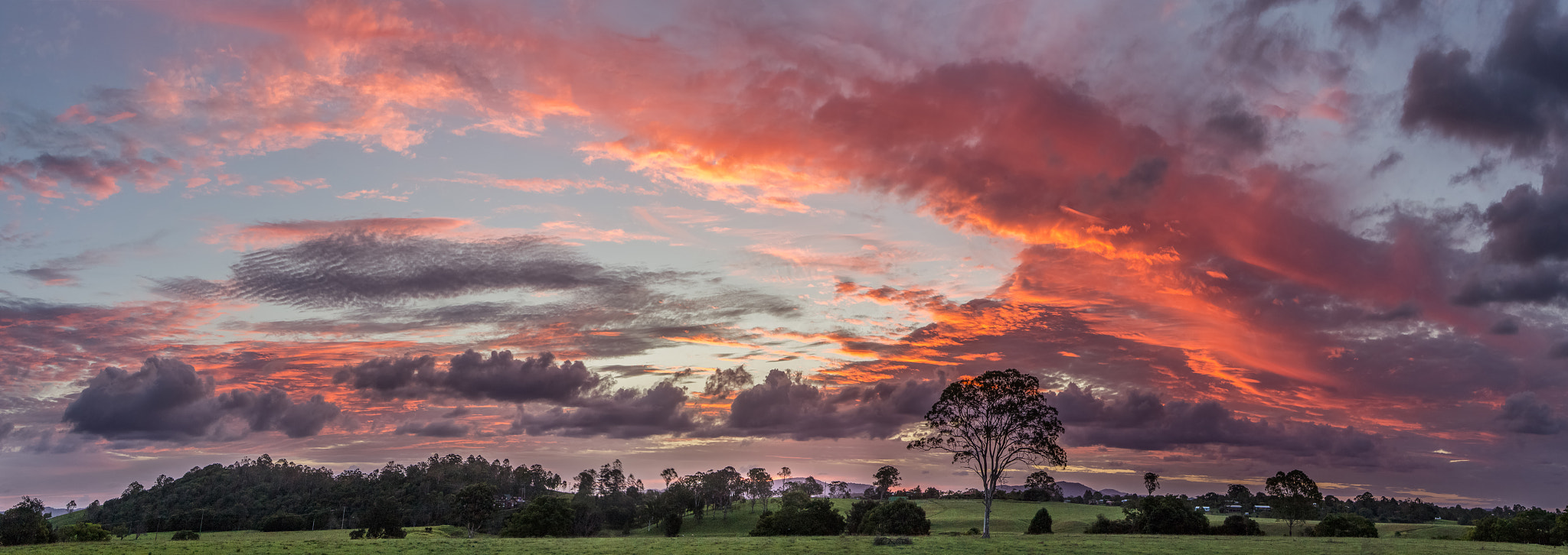 Photograph A Big Sky Sunset by Matthew Post on 500px