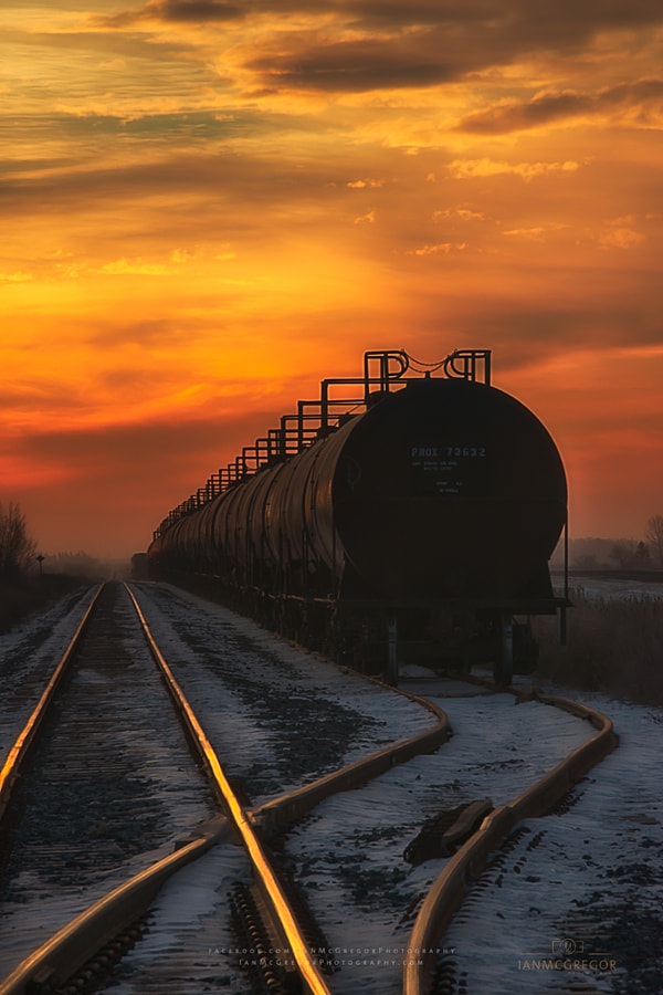 Sunrise Rail by Ian McGregor on 500px.com
