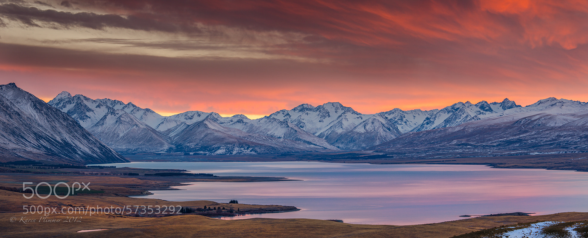 Photograph Lake Tekapo by Karen Plimmer on 500px