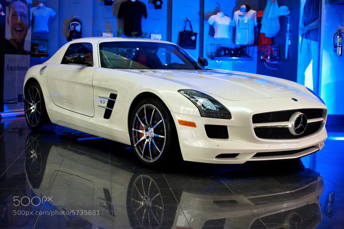 Photograph Mercedes-Benz SLS AMG by Mark Shannon on 500px