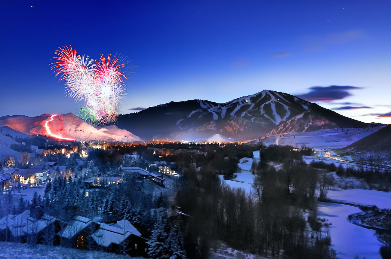 Photograph Sun Valley Torchlight Parade by Tory Taglio on 500px