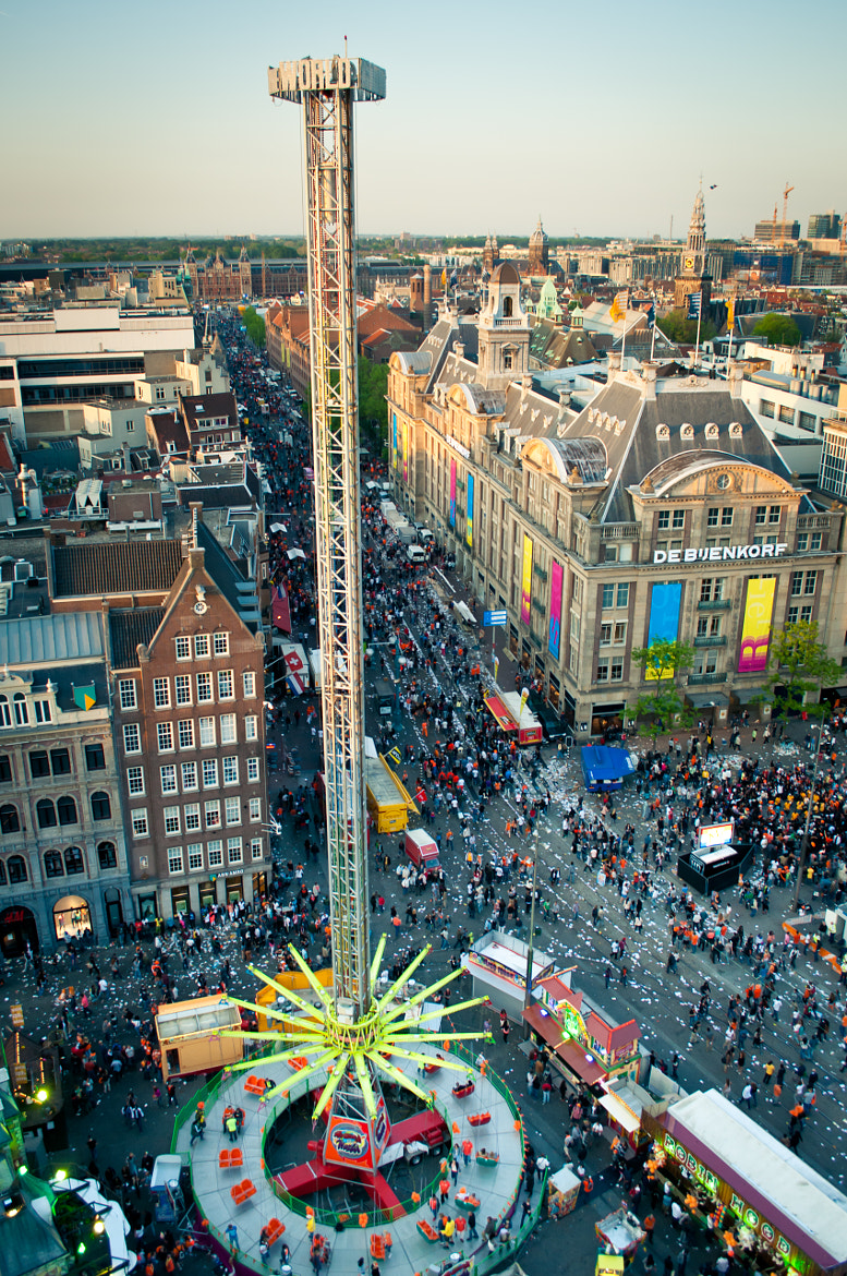 Photograph Above Dam Square, Amsterdam by Glafira Kushnir on 500px