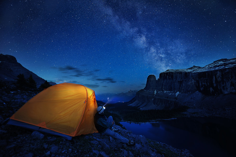 Photograph Camping on the edge by victor Liu on 500px