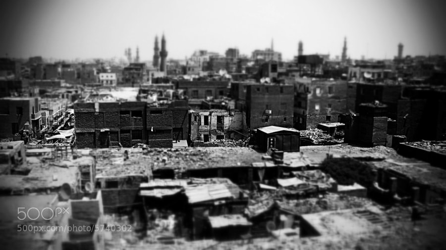 Photograph Old Cairo in a Tiltshift by Nancy Messieh on 500px