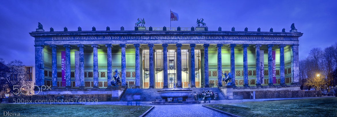 Photograph Altes Museum (Berlin) by Domingo Leiva on 500px