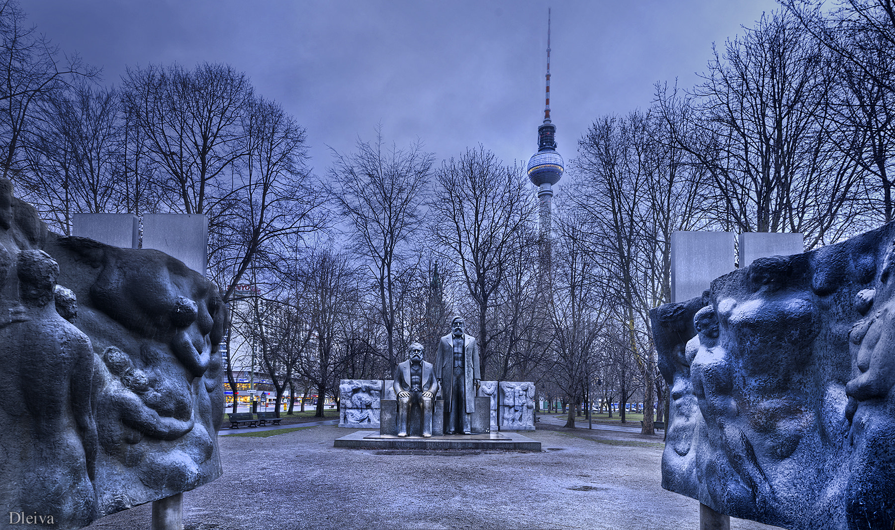 Photograph Marx Engels forum (Berlin) by Domingo Leiva on 500px