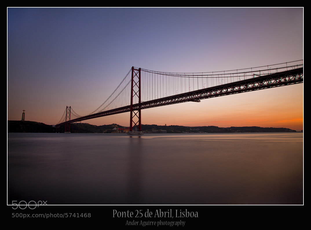 Photograph Ponte 25 de Abril by Ander Aguirre on 500px