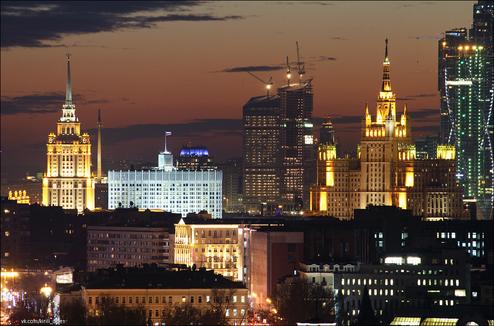 Photograph Moscow towers by Kirill Oreshkin on 500px