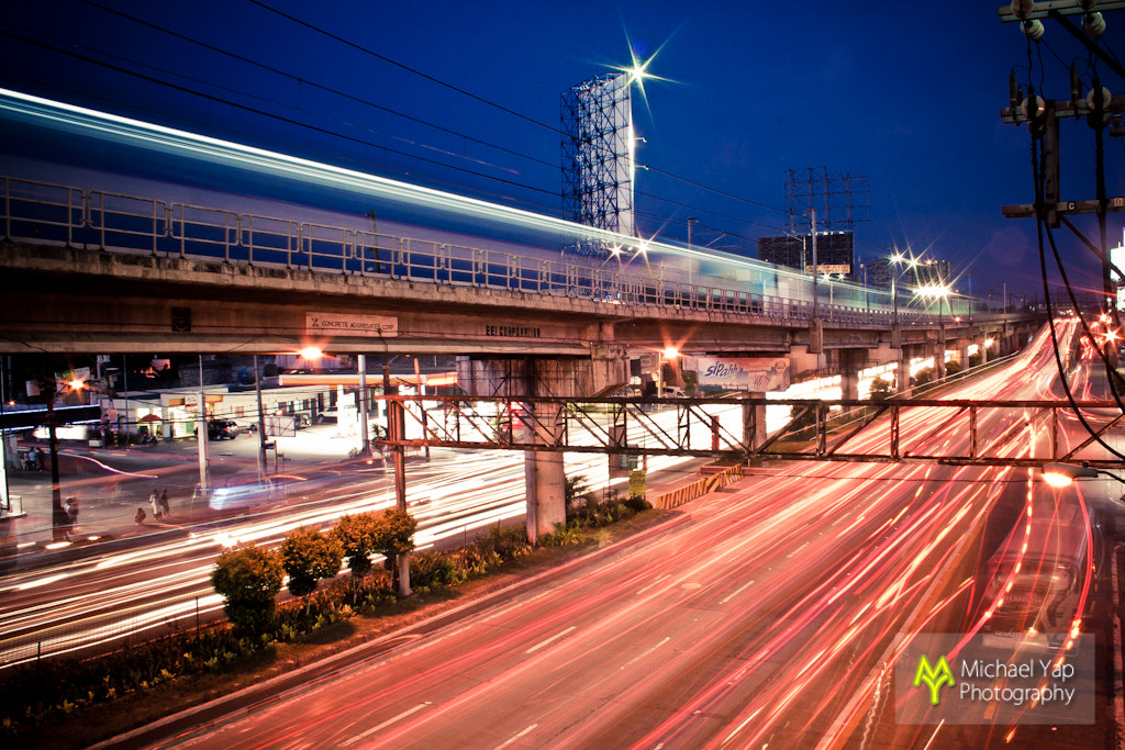 Photograph Light trails by Michael Yap on 500px